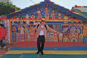 เที่ยวไต้หวัน ไทจง หมู่บ้านสายรุ้ง (Taiwan Taijong Rainbow village)